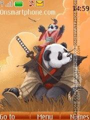 Скриншот темы Kung Fu Panda 08