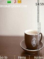 Скриншот темы Starbucks 01
