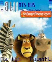 Madagascar2 es el tema de pantalla