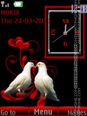 Love Birds 06 theme screenshot