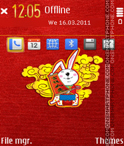 Rabbit v3 mcc jun Theme-Screenshot