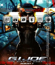 G.I.JOE es el tema de pantalla