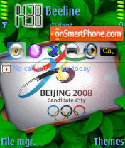Beijing 2008 theme screenshot