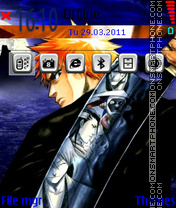 Bleach theme screenshot