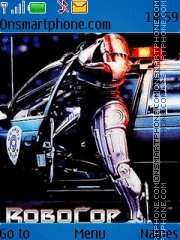 RoboCop theme screenshot