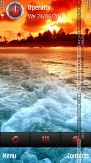 Sunet beach theme screenshot