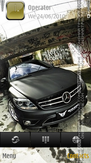 Mercedes CL theme screenshot