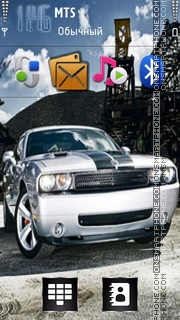 Mustang 26 theme screenshot