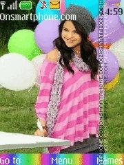 Selena Gomez 04 theme screenshot
