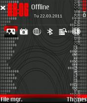 Dots and circles theme screenshot