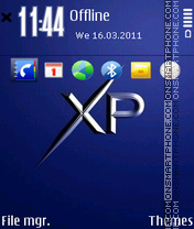 Xp by gray theme screenshot