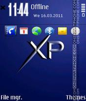 Xp by gray tema screenshot