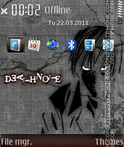 Death note 667 theme screenshot