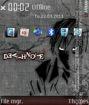 Death note 667 es el tema de pantalla