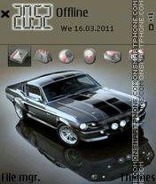 Ford Mustang 1966 X2 es el tema de pantalla