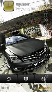 Скриншот темы Mercedes cl3
