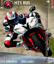 Biker theme screenshot