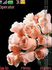 Pink roses anim theme screenshot