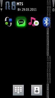 Green Flash Icons theme screenshot