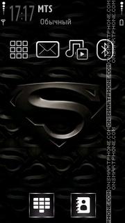 Скриншот темы Dark Superman 01