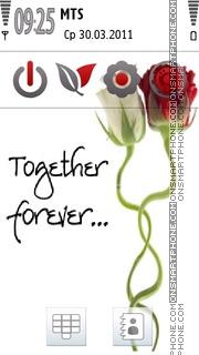 Together Forever 09 es el tema de pantalla