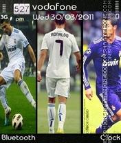 Cristiano Ronaldo theme screenshot