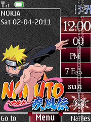 Naruto Saga tema screenshot
