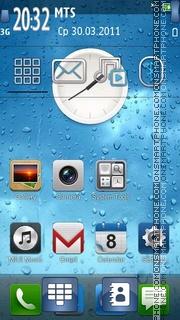 Iphone 4g es el tema de pantalla