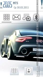Скриншот темы Audi R12 02