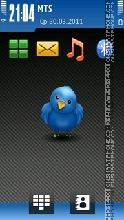 Twitter Nokia theme screenshot