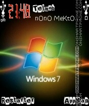 Windows 7 theme screenshot