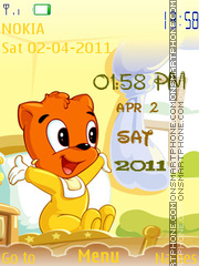 Wake Up Clock theme screenshot