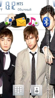 GossipGirl theme screenshot