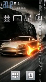 Fire Car 05 theme screenshot