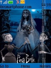 Corpse Bride theme screenshot