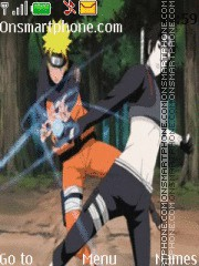 Naruto N Sai theme screenshot