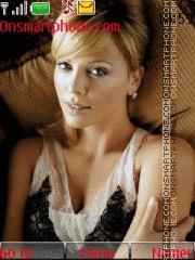 Charlize Theron 21 theme screenshot
