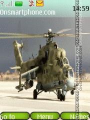 Скриншот темы Mi-8