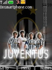 Juventus 2012 theme screenshot