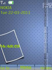 SWF Clock 02 theme screenshot
