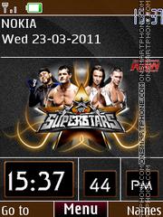 Wwe Clock theme screenshot