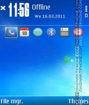 Seven by Petlyak theme screenshot