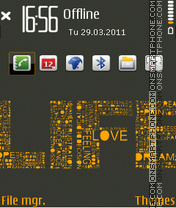 Life 09 theme screenshot