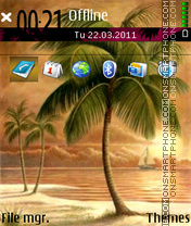Palms 04 theme screenshot