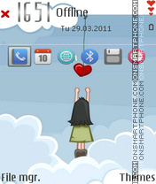 Grab a heart Theme-Screenshot