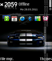Mustang 27 theme screenshot
