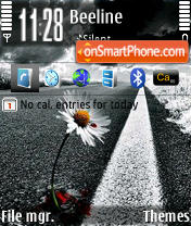 Road 01 theme screenshot