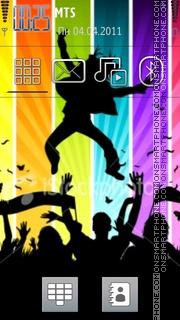 Vector Dance tema screenshot