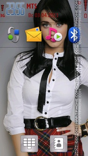 Katy Perry 03 Theme-Screenshot