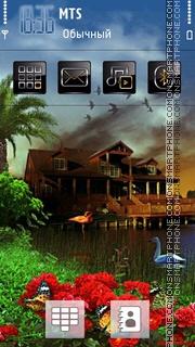 3d House 01 theme screenshot